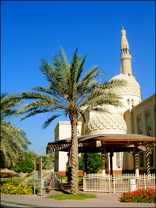 United Arab Emirates, Dubai - Jumeirah mosque