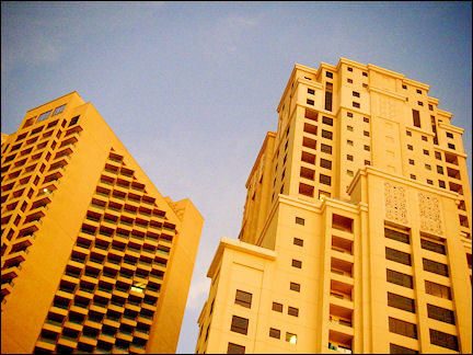 United Arab Emirates, Dubai - Dubai marina buildings