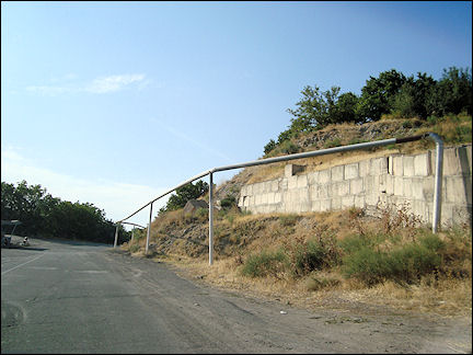 Armenia - Above ground gas mains