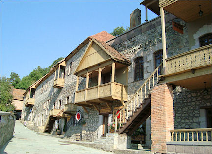 Armenia - Restored street in Dilijan