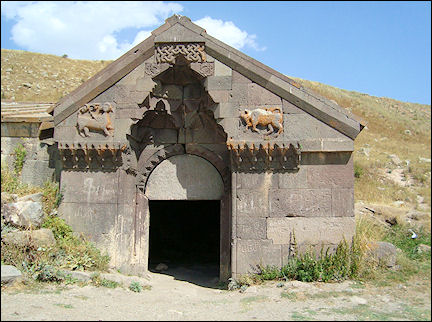 Armenia - Entrance caravanserai of Selim