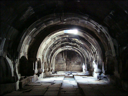 Armenia - Meeting room caravanserai of Selim