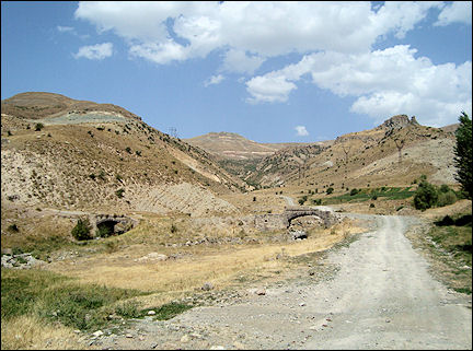 Armenia - Bridges on the Silk Route near the caravanserai of Selim