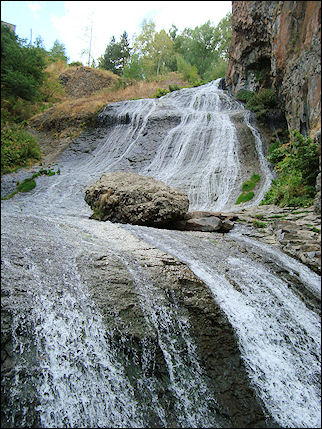 Armenia - Waterfall of Jermuk