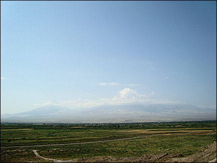 Armenia - No man's land at the Turkish border