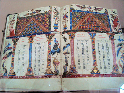 Armenia - Old manuscript in Matenadaran, Yerevan