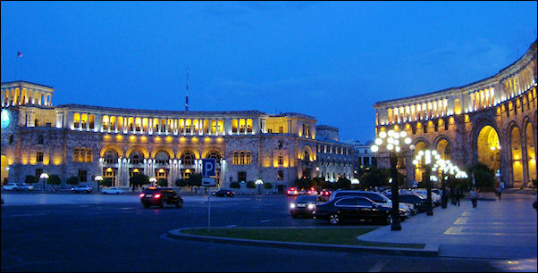 Armenia - Night in Yerevan