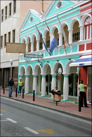 Netherlands Antilles, Curaçao - Willemstad, street in Punda