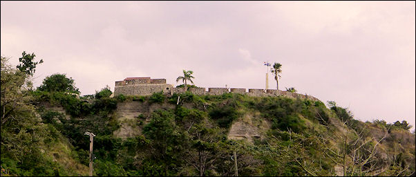 Leeward Islands, Sint Eustatius - Fort Oranjestad