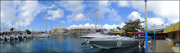 Leeward Islands, Sint Maarten - Inner harbor Marigot