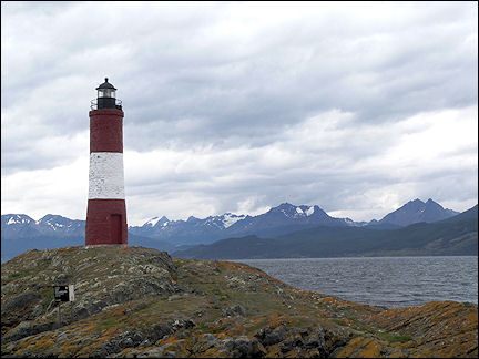 Argentina - Ushuaia, most southern lighthouse in the world