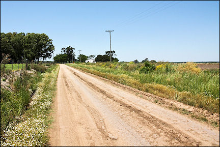 Argentina - Unpaved roads