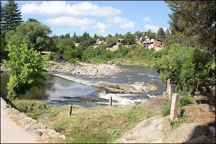 Argentina - River in Icho Cruz