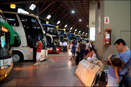 Argentina - The bus to Salta