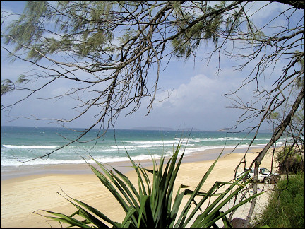 Australia, Queensland - Rainbow Beach