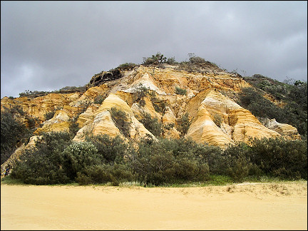Australia, Fraser Island - Coloured Sands