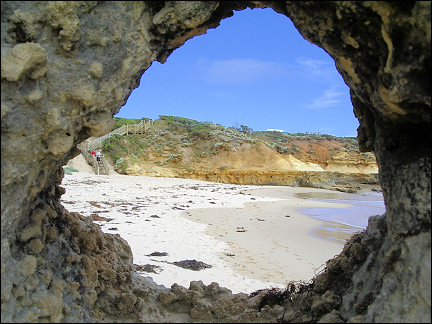 Australia, Great Ocean Road - Sandy beach