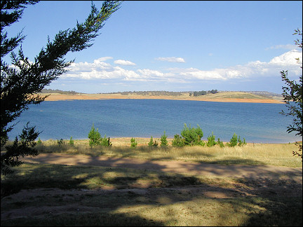 Australia, New South Wales - Lake Eucumbene