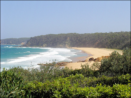Australia, East Coast - Bay near Bermagui