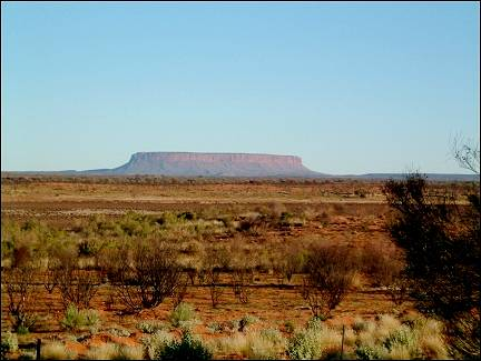 Australia, Northern Territory - Mt Conner