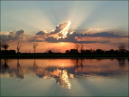 Australia, Northern Territory - Sunset