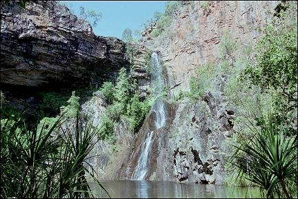 Australia, Northern Territory - Sandy Creek Falls