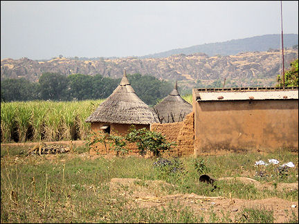Burkina Faso - View of the falaise