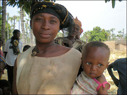 Burkina Faso - Mother and child