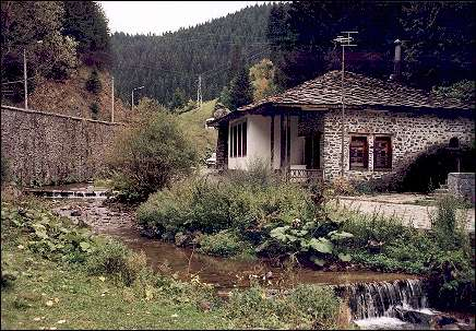 Bulgaria, Rodopi Mountains - Restaurant in water mill