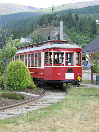 Canada, British Colombia and Alberta - Streetcar 23 in Nelson