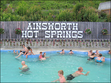 Canada, British Colombia and Alberta - Ainsworth Hot Springs
