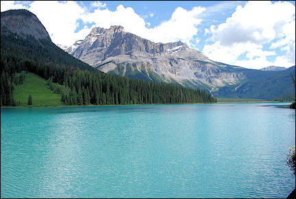 Canada, British Colombia and Alberta - Emmerald Lake in Yoho National Park