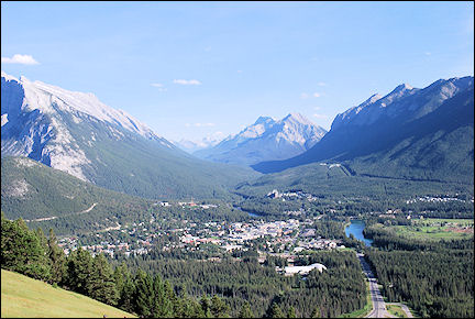 Canada, British Colombia and Alberta - Banff in Banff National Park