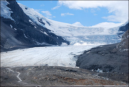 Canada, British Colombia and Alberta - Athabasca Glacier along the Icefield Parkway