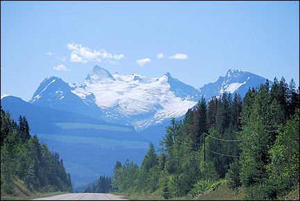 Canada, British Colombia and Alberta - On the way to Clearwater