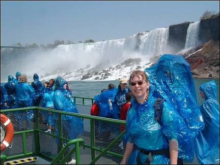 Canada - Niagara Falls, tour on the Maid of the Mist