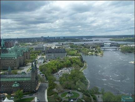 Canada - View of Ottawa from the Peace Tower