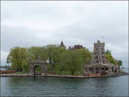 Canada - Heart Island with Bolt Castle