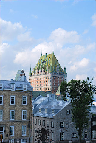Canada, Quebec - Old city wall Quebec