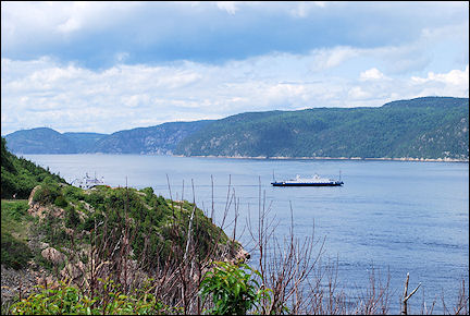Canada, Quebec - Ferry over the Saguenay