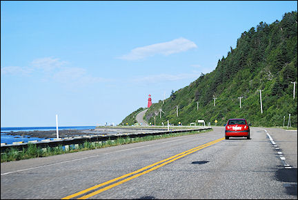 Canada, Quebec - On the road in Gaspesie