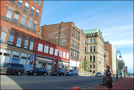 Canada, New Brunswick - Old city of Saint John