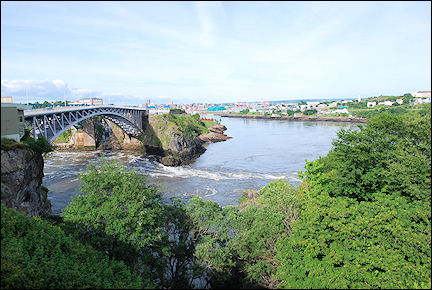 Canada, New Brunswick - Reversing Falls Rapids at Saint John