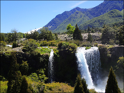 Chile - Waterfall in Conguillío National Park
