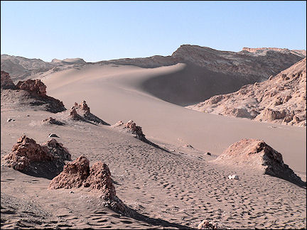 Chile - Atacama, Moon Valley