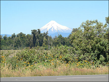 Chile - Vulcano at Osorno