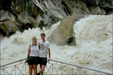 China, Yunnan - Tiger Leaping Gorge, at the first Tiger Leaping Stone