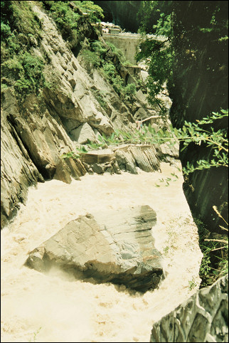 China, Yunnan - Tiger Leaping Gorge