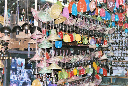 China, Yunnan - Windchime shop