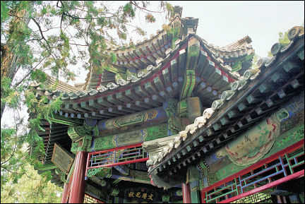 China, Beijing - Architecture summer palace